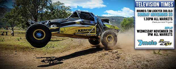 Bumper Television Coverage For AORC's TJM Lockyer 300