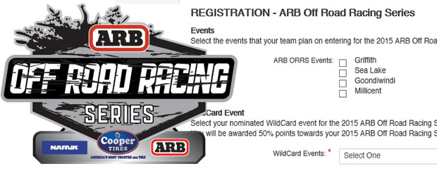 2015 ARB ORRS Registration Now Available