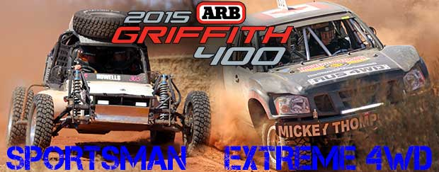 Perfect Finishing Rate for Sportsman and Extreme 4WD Class at Griffith