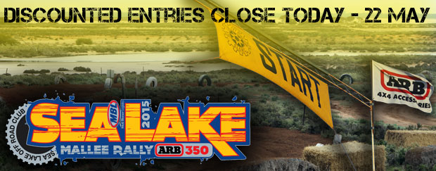 Sea Lake... Discounted Entries Close Today