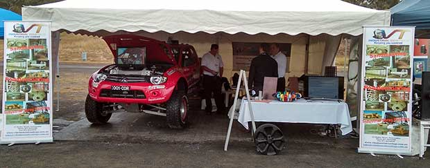 Chapman Offroad on Display at Mining Expo
