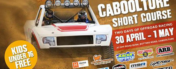 Top Field for Off Road Rush Caboolture Short Course