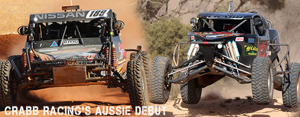Crabb Racing Debut on Australian Shores