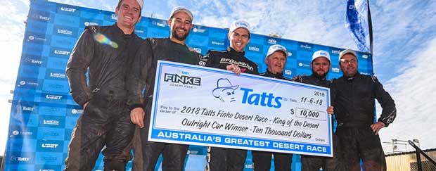 Record Sixth Finke Desert Race Title For Rentsch