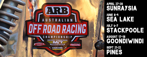 2019 Calendar Announced for ARB AORRC